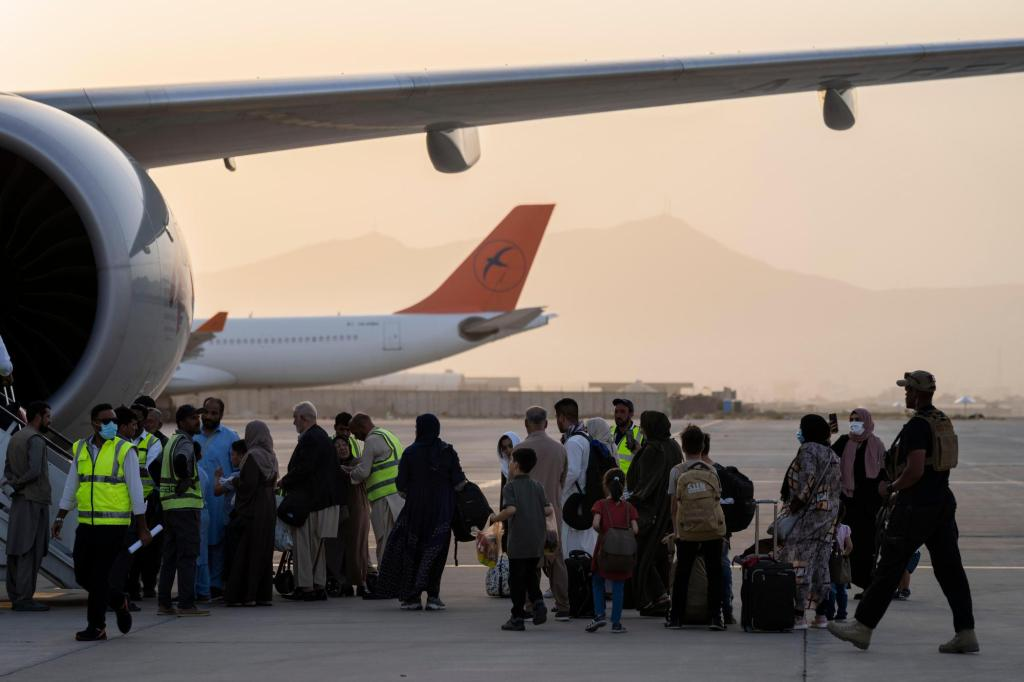 Up to 900 Afghan evacuees headed to Massachusetts