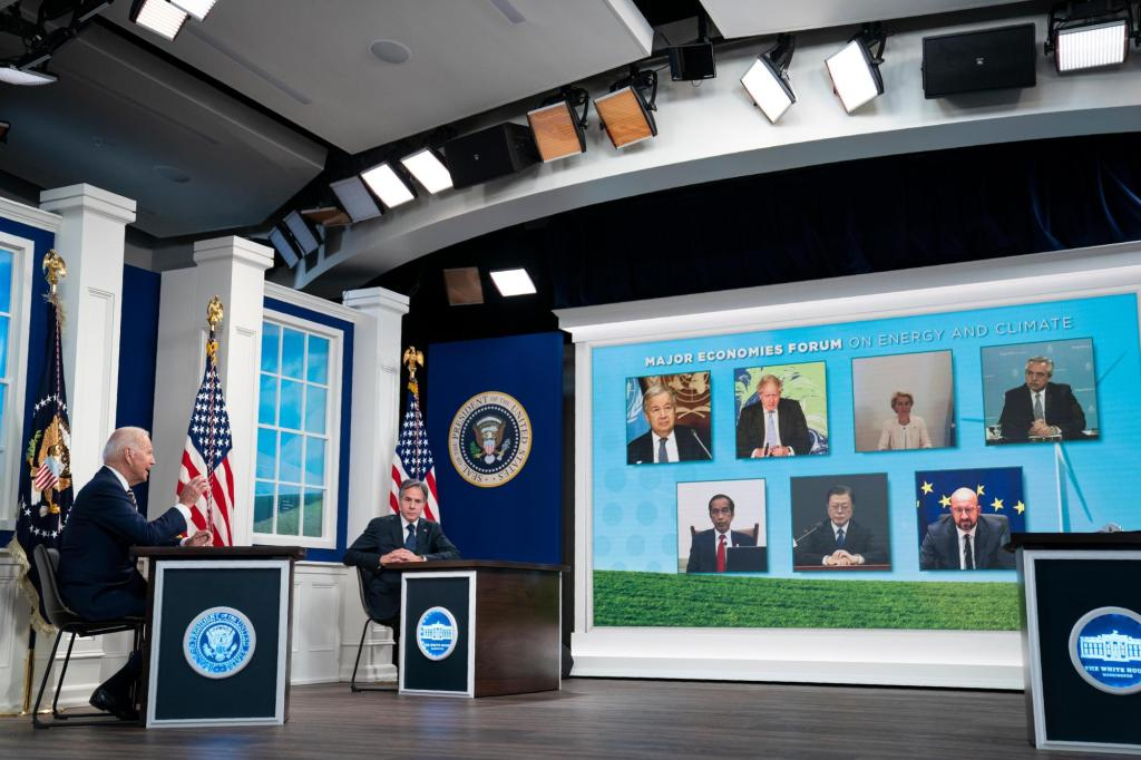 Biden, world leaders try to hammer out next steps on climate change