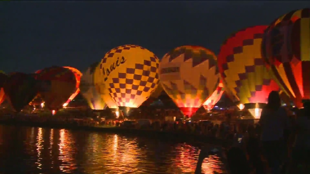 See the Great Forest Park Balloon Glow and Race in St. Louis this weekend