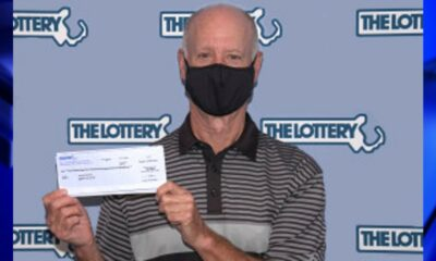 Pittsfield man plans to buy golf clubs after winning $1 million lottery