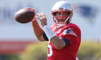 Patriots sign QB Brian Hoyer off practice squad to 1-year deal