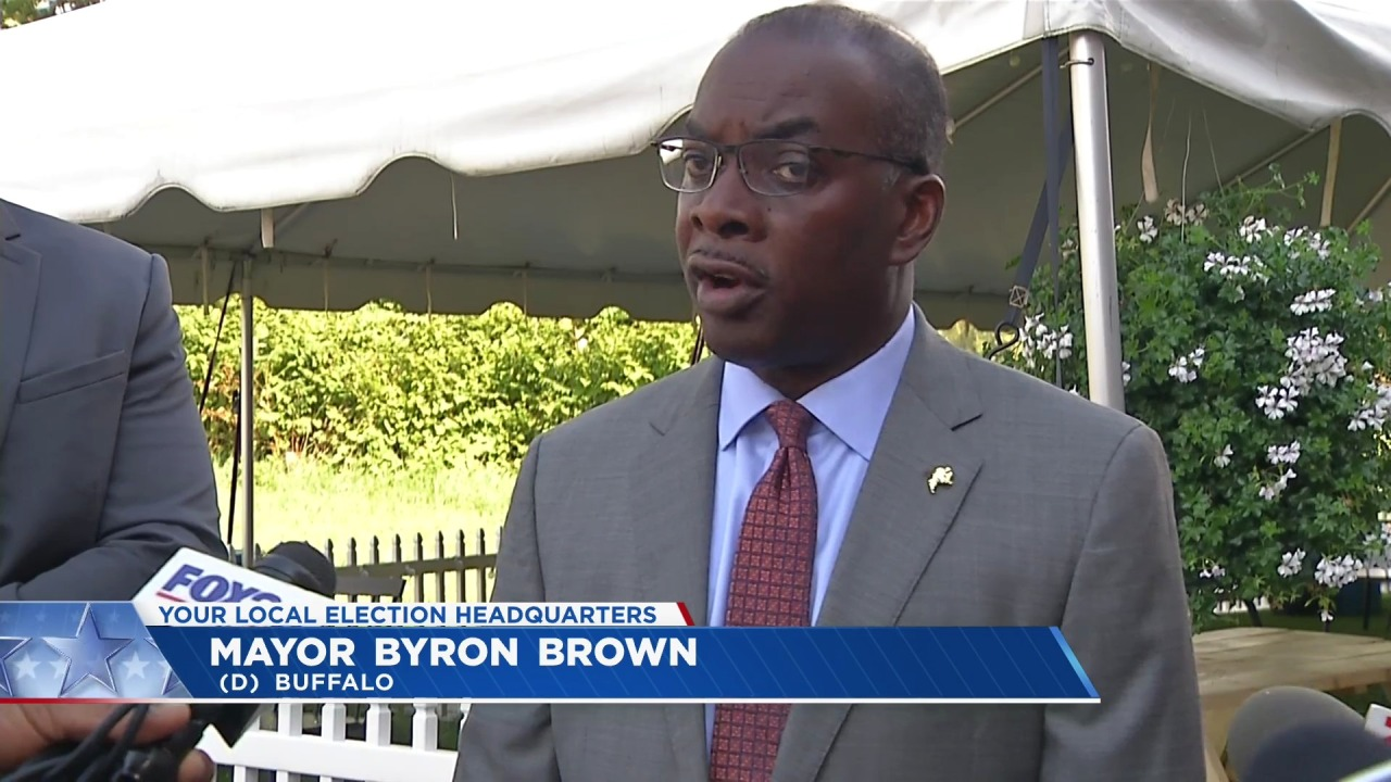 Buffalo mayoral ballot matter decided against Brown