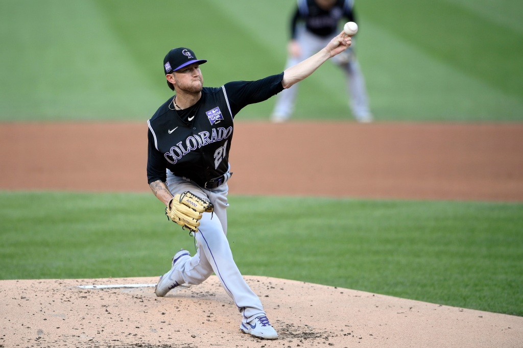 Kyle Freeland's six shutout innings leads Rockies to fifth straight road win