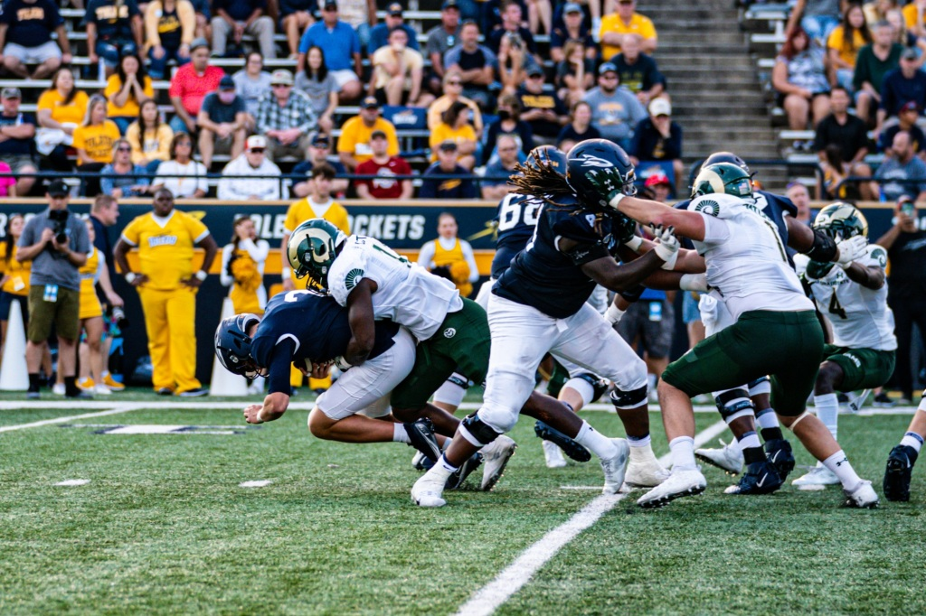 Colorado State football seizes first win of the season in upset fashion