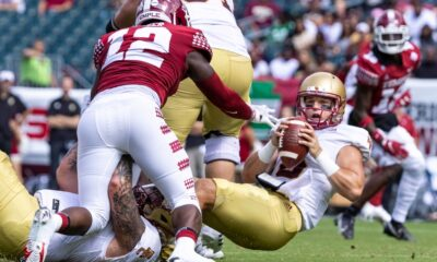 Boston College improves to 3-0 with 28-3 win at Temple