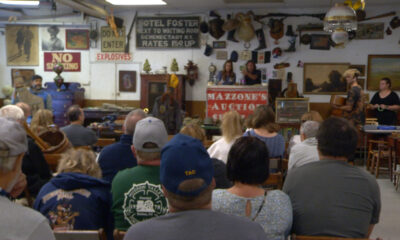 Historic items, including belongings of legendary musician, sold at local auction
