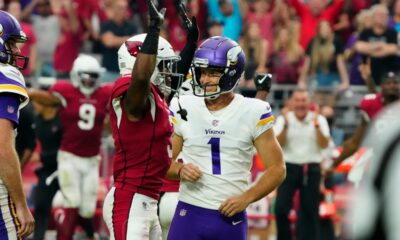 Greg Joseph's missed field goal as time expires extends Vikings' historic kicking woes