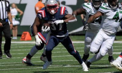 Inside Patriots RB Damien Harris' game-breaking touchdown run against the Jets