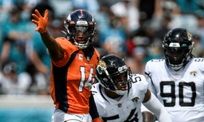 Courtland Sutton's return-to-form game is career-best and helps Broncos beat Jaguars, move to 2-0
