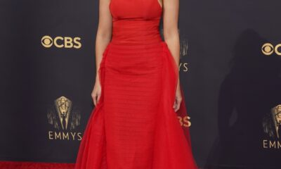Who wore what on the Emmy Awards red carpet