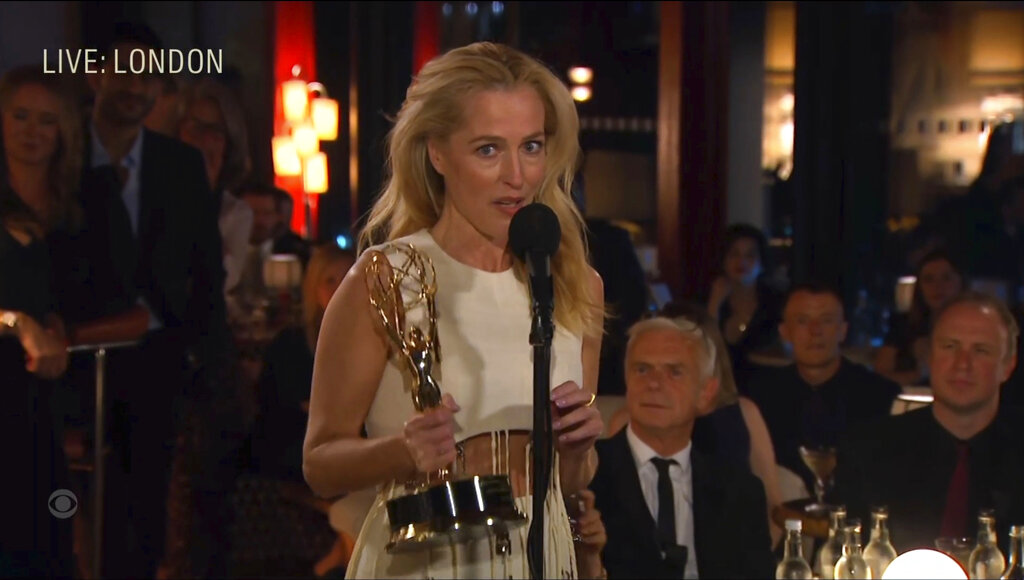 'Ted Lasso,' 'Crown' among winners at Emmy Awards