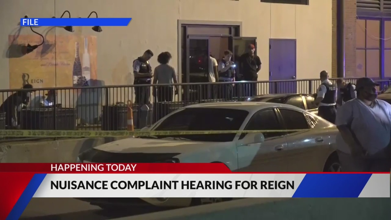 Hearing for Reign Restaurant's nuisance summons heard today