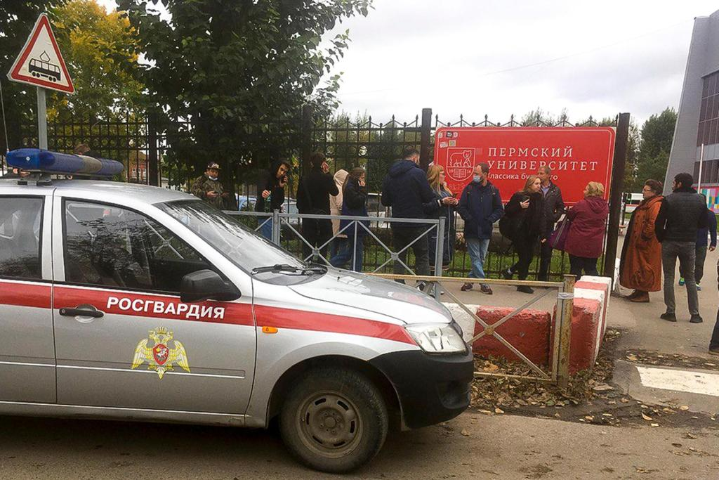 Shooting at Russian university leaves 8 dead, 28 hurt