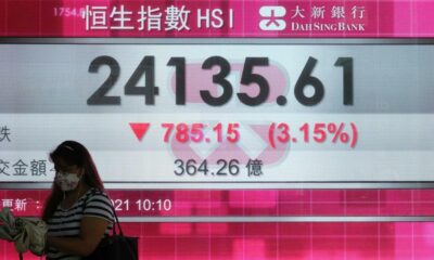 World shares, US futures sink on jitters over Fed moves