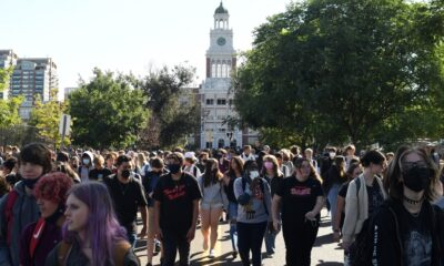 More than 1,000 Denver students stage walk-out to call for Tay Anderson's resignation