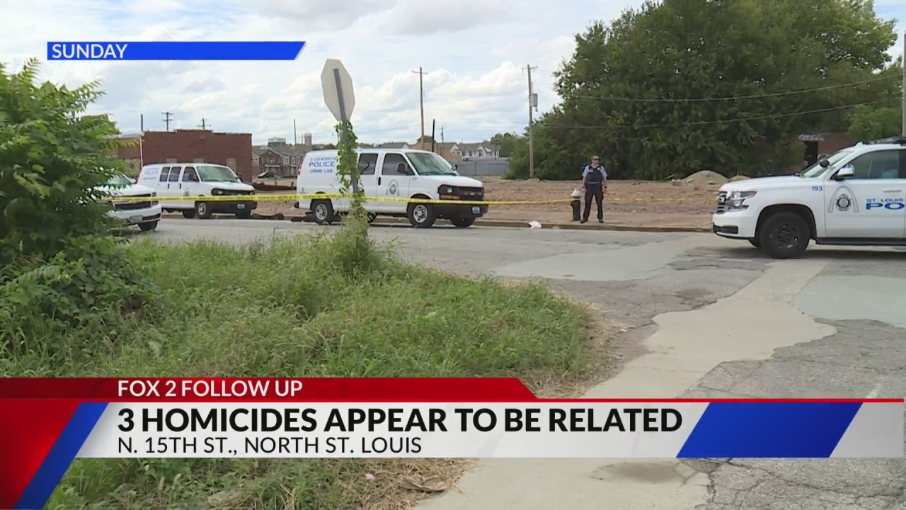 St. Louis City and County police link three homicide investigations