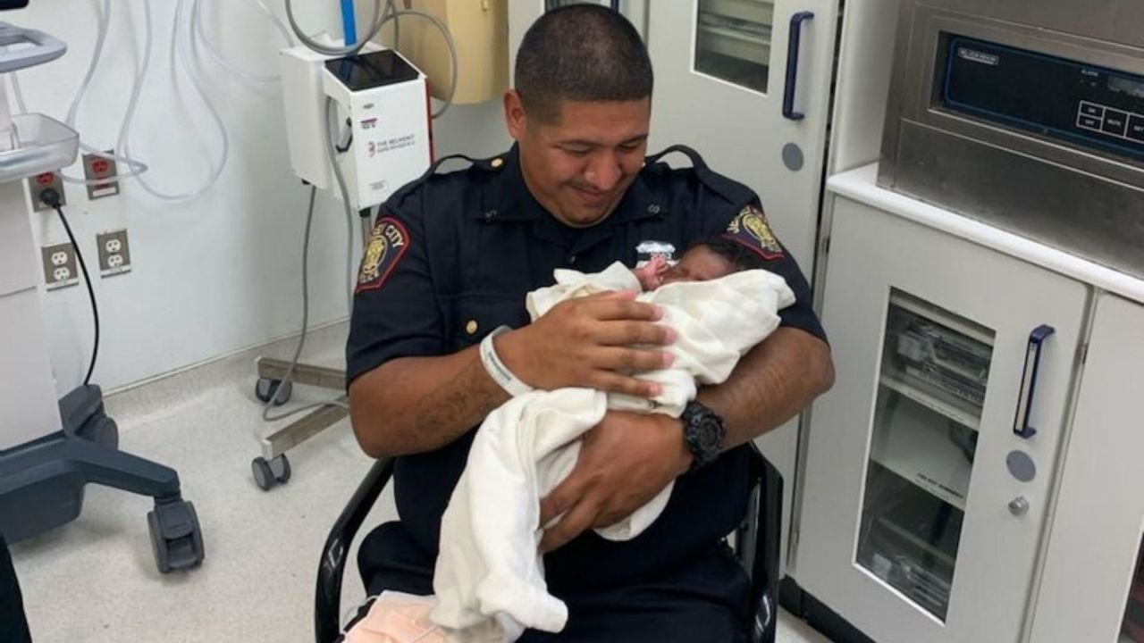 Jersey City police catch baby thrown from balcony