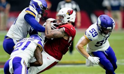 Gophers in the NFL: Maxx Williams, De'Vondre Campbell stand out in Week 2