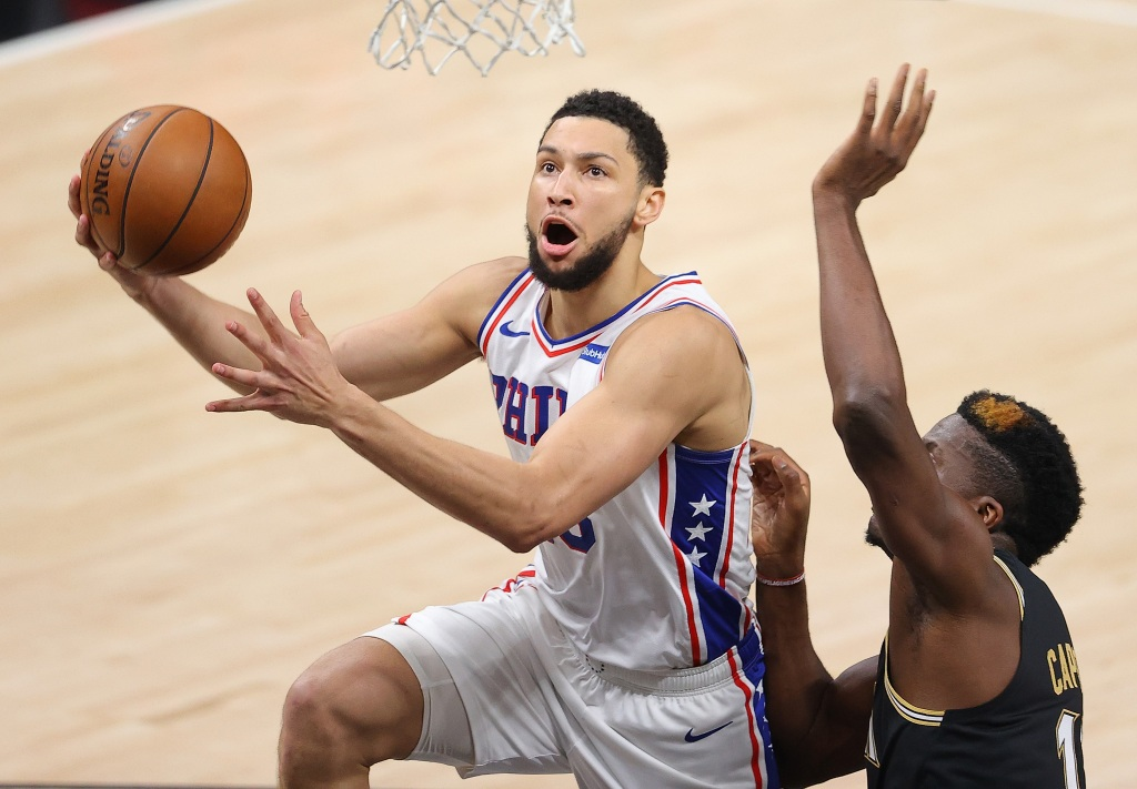 Ben Simmons won't report to 76ers' training camp, AP source says