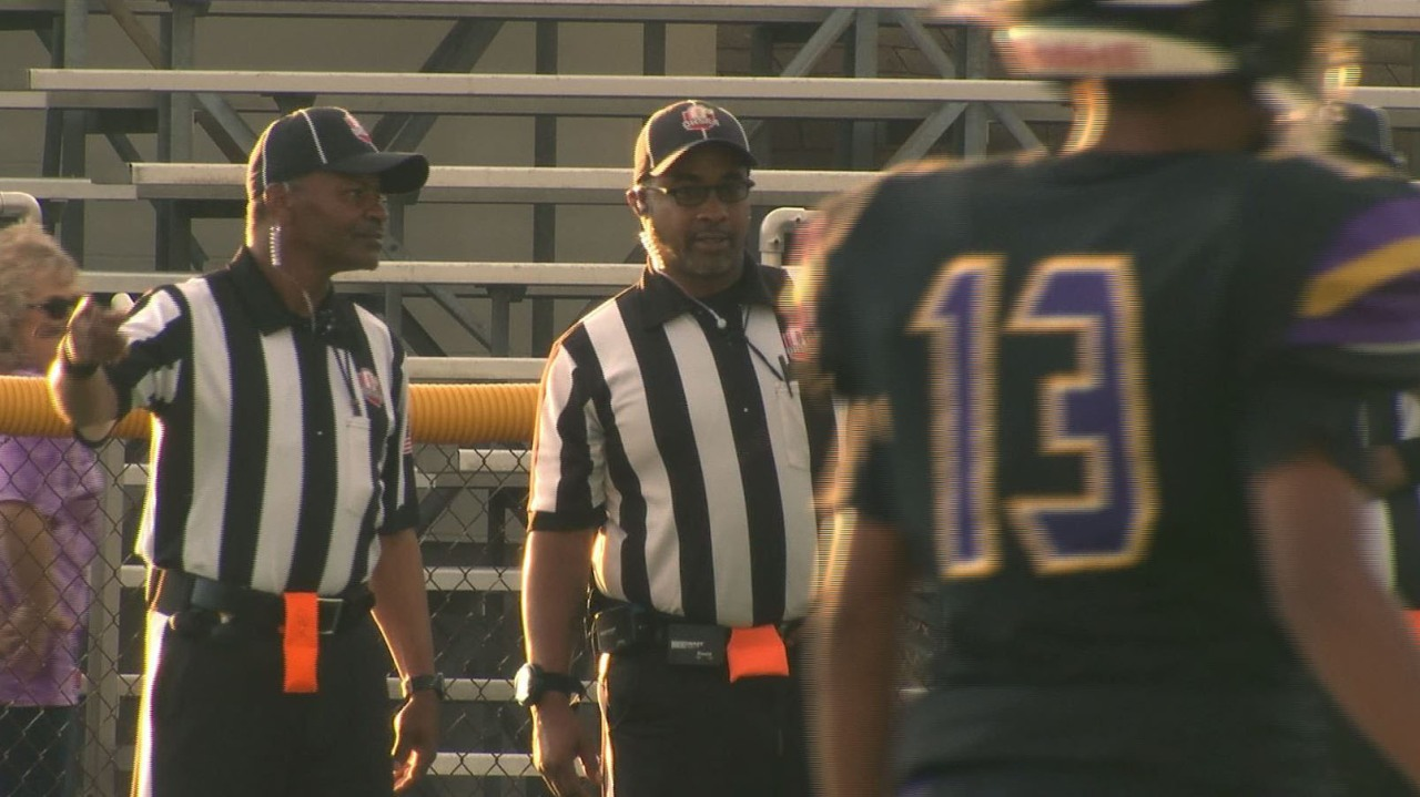 Apply to become a high school official