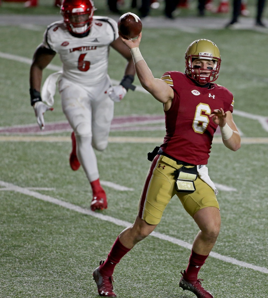 Boston College plans return to passing attack with QB Dennis Grosel against Missouri