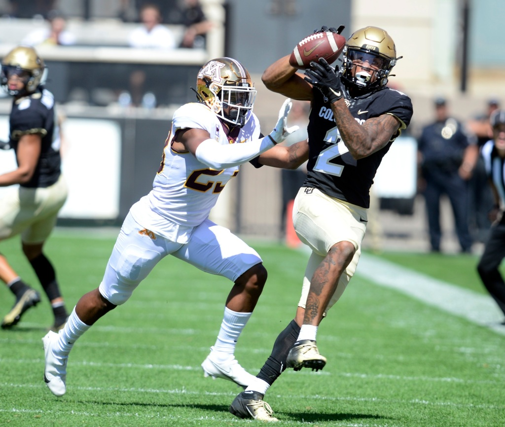 """Receiver Brenden Rice confident in CU Buffs' offense: """"We'll get it together"""""""