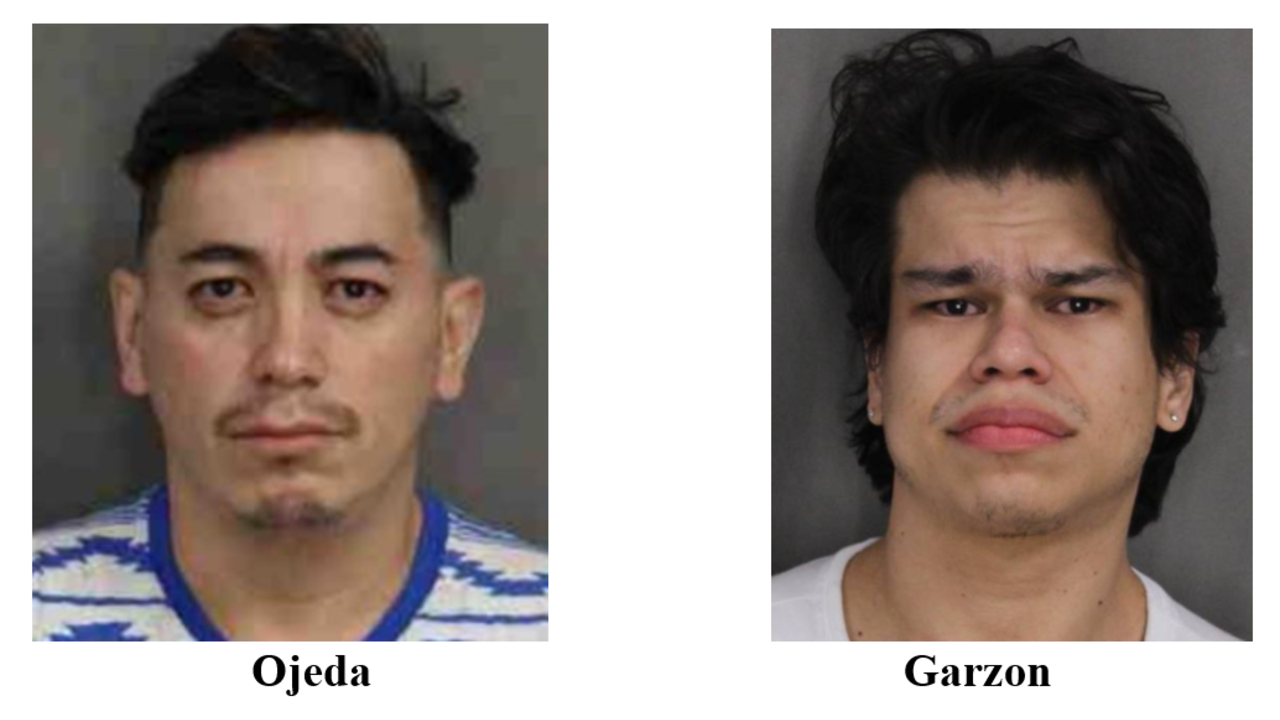 Police search for 2 men charged in connection with infant's death after not showing up for court
