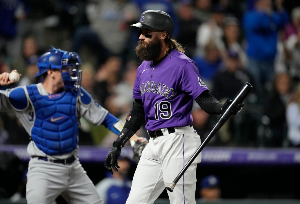 Rockies fall to Dodgers in extra innings to open final homestand of season