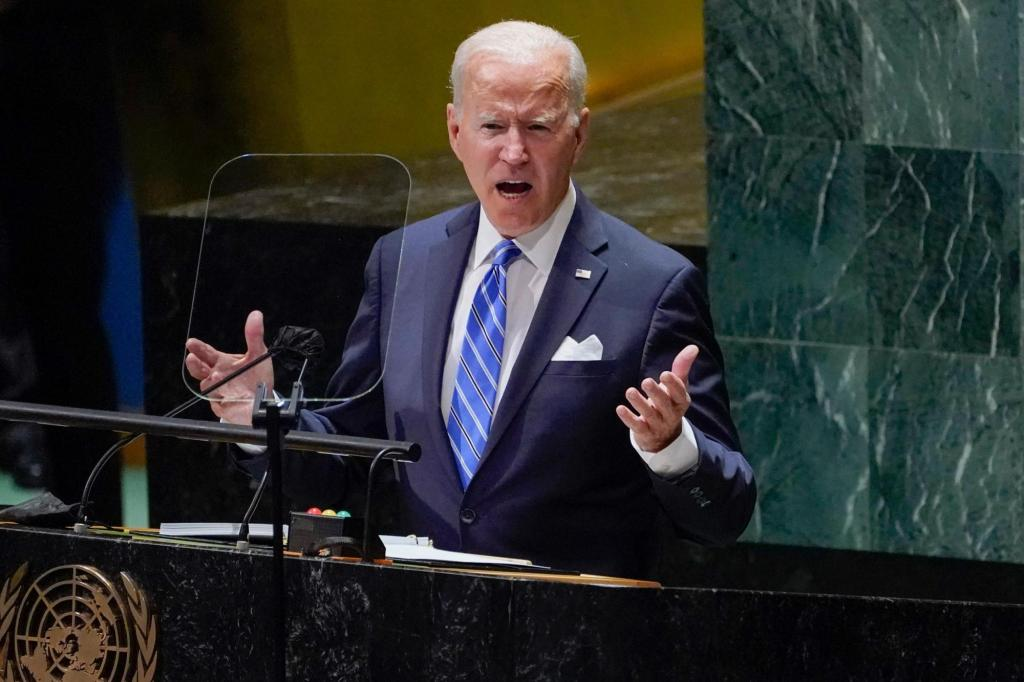 Trudy Rubin: Biden's principled UN speech contradicted by facts on the ground