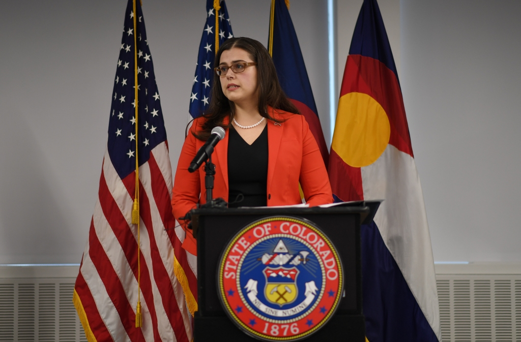 Colorado Secretary of State Jena Griswold wanted private security due to threats. One state board said no.