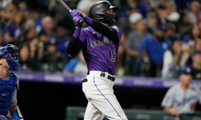 Behind Sam Hilliard and C.J. Cron, Rockies outmuscle Dodgers for win at Coors Field