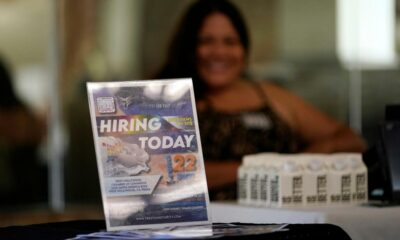 U.S. jobless claims tick up from near a pandemic low