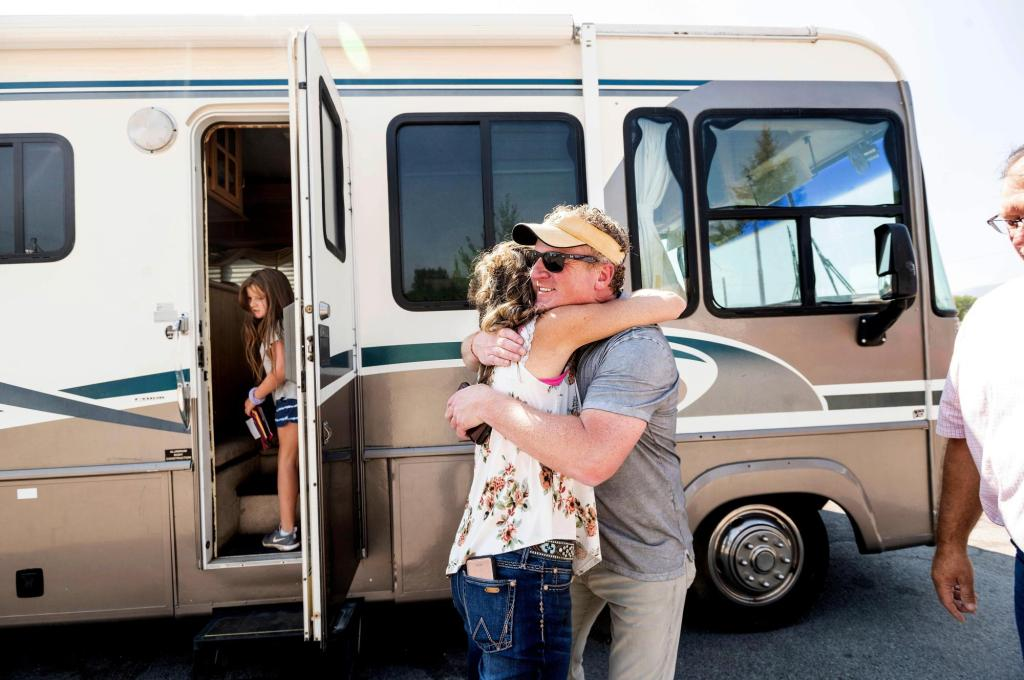 Denver man delivers donated RVs, bringing hope to wildfire victims left with nothing