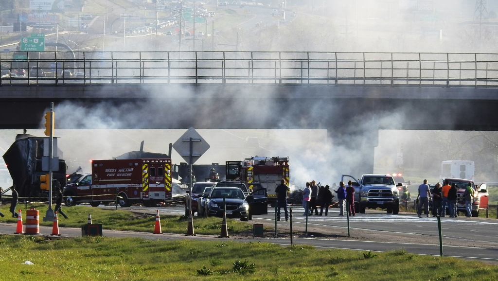 Trial starts for I-70 truck driver who caused deadly 28-vehicle crash in Lakewood