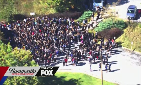 Parkway Central students walk out in frustration over racist graffiti