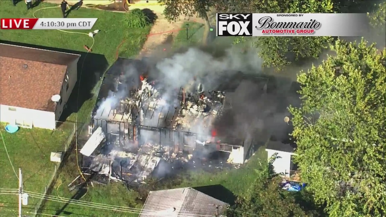 Home explosion in Cahokia Heights