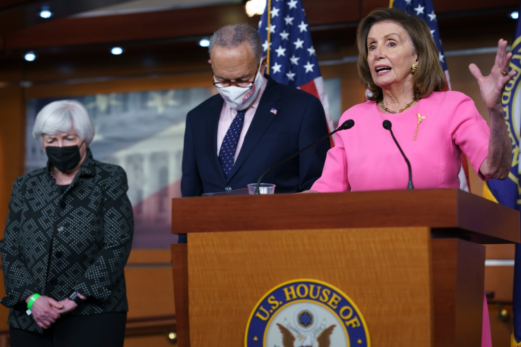 """Democrats see tax """"framework"""" to pay for huge $3.5T package"""