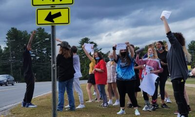 Queensbury students call for better handling of racism, sexism at high school