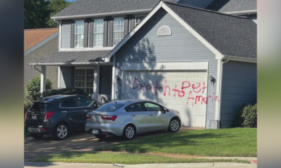 FOX Files: 'Death to America,' other graffiti messages painted by man in same neighborhood