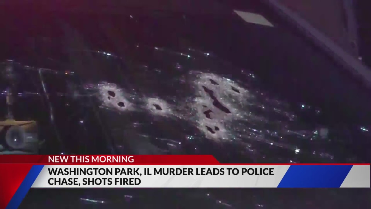 Murder suspects shoot at police as they lead them on Bi-state chase