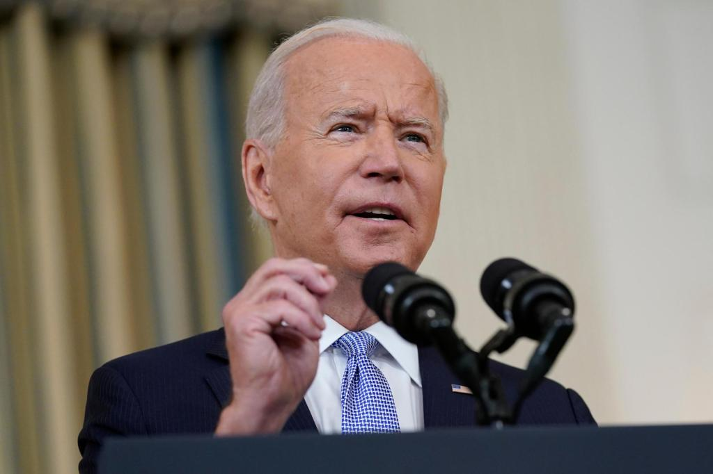 """Biden: Budget talks hit """"stalemate,"""" $3.5 trillion may take a while"""