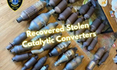 Police make an arrest in connection to stolen catalytic converters in Maryland Heights