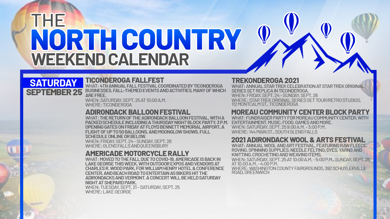 1632527940 46 North Country Weekend Calendar Balloons Bikes and a visit to