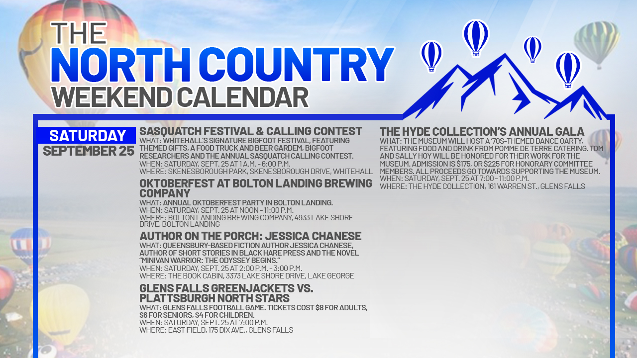 1632527945 712 North Country Weekend Calendar Balloons Bikes and a visit to