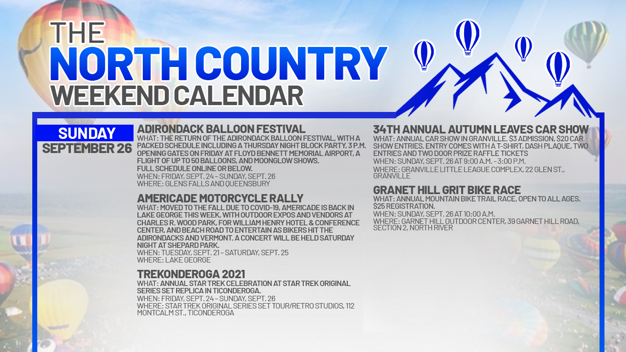1632527950 978 North Country Weekend Calendar Balloons Bikes and a visit to