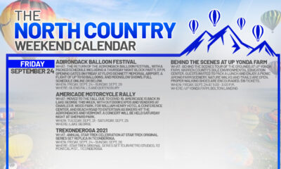 North Country Weekend Calendar: Balloons, Bikes, and a visit to the U.S.S. Enterprise