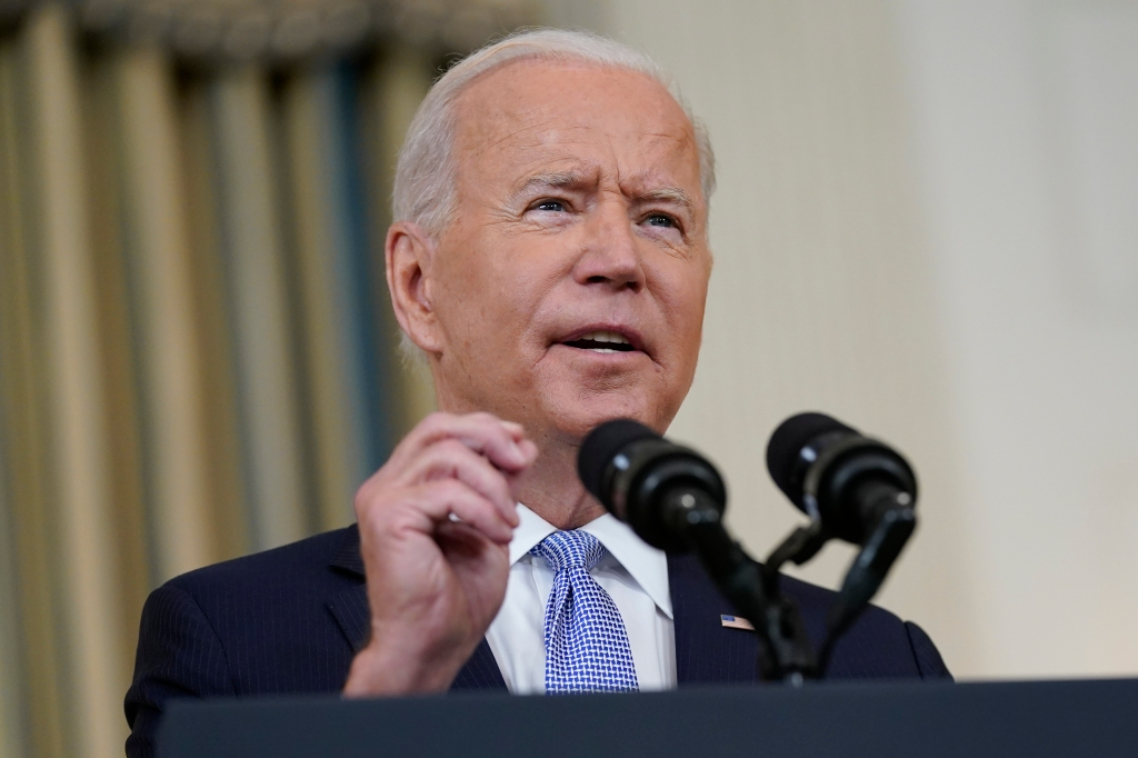 """Biden: Budget talks hit """"stalemate,"""" $3.5T may take a while"""
