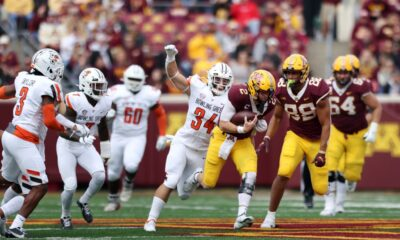 Big-favorite Gophers shocked in a 14-10 loss to Bowling Green