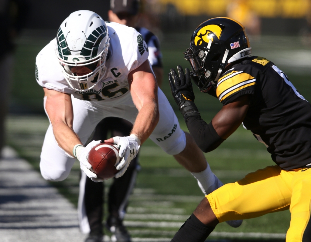 Colorado State football comes up short following courageous battle at No. 5 Iowa