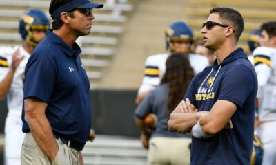 Keeler: Ed McCaffrey must have angels on his side in Greeley. Because his first home win with UNC Bears felt Heaven-sent.